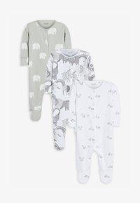 Next - 3 PACK - Pyjamas - grey - 0