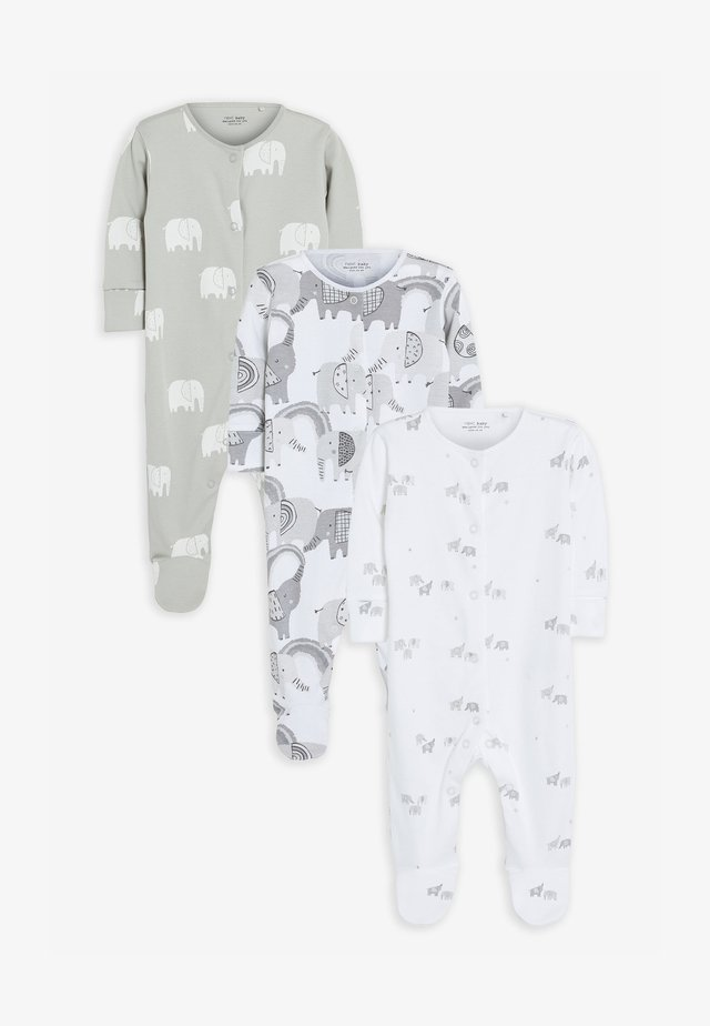 3 PACK - Pyžamo - grey