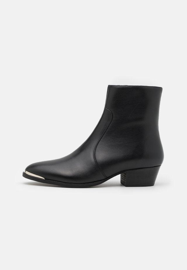 ZIMMERMAN STEEL BOOT  - Classic ankle boots - blackbird