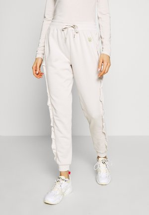Tracksuit bottoms - cream