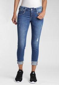Gang - COMFORT RETRO - Jeans Skinny Fit - blue stone vintage - 0