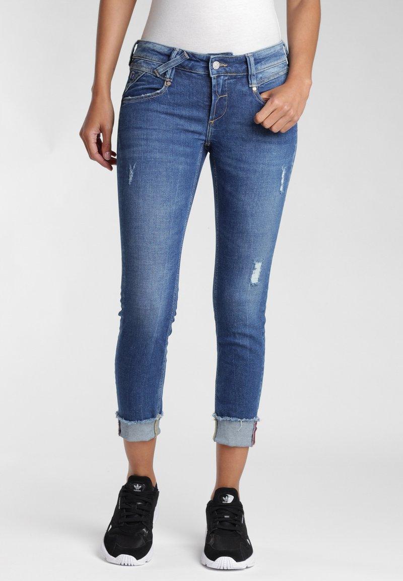 Gang - COMFORT RETRO - Jeans Skinny Fit - blue stone vintage