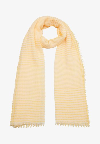 Scarf - yellow check