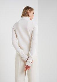 FTC Cashmere - ROLLNECK - Jumper - pristine white - 4