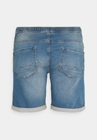 Blend - Denim shorts - denim middle blue - 1