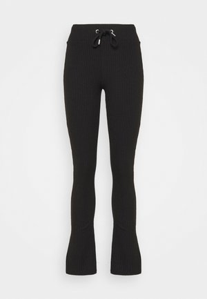ELLA TROUSERS - Trousers - black