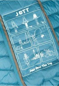 JOTT - CLOE - Gewatteerde jas - bleu canard - 5