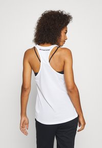 Tommy Sport - PERFORMANCE TANK TOP - Sports shirt - white - 2