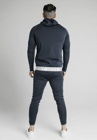 SIKSILK - SCOPE TAPE ZIP THROUGH HOODIE - Felpa aperta - navy - 2