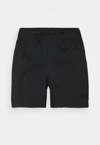 CLASS V - Friluftsshorts - black
