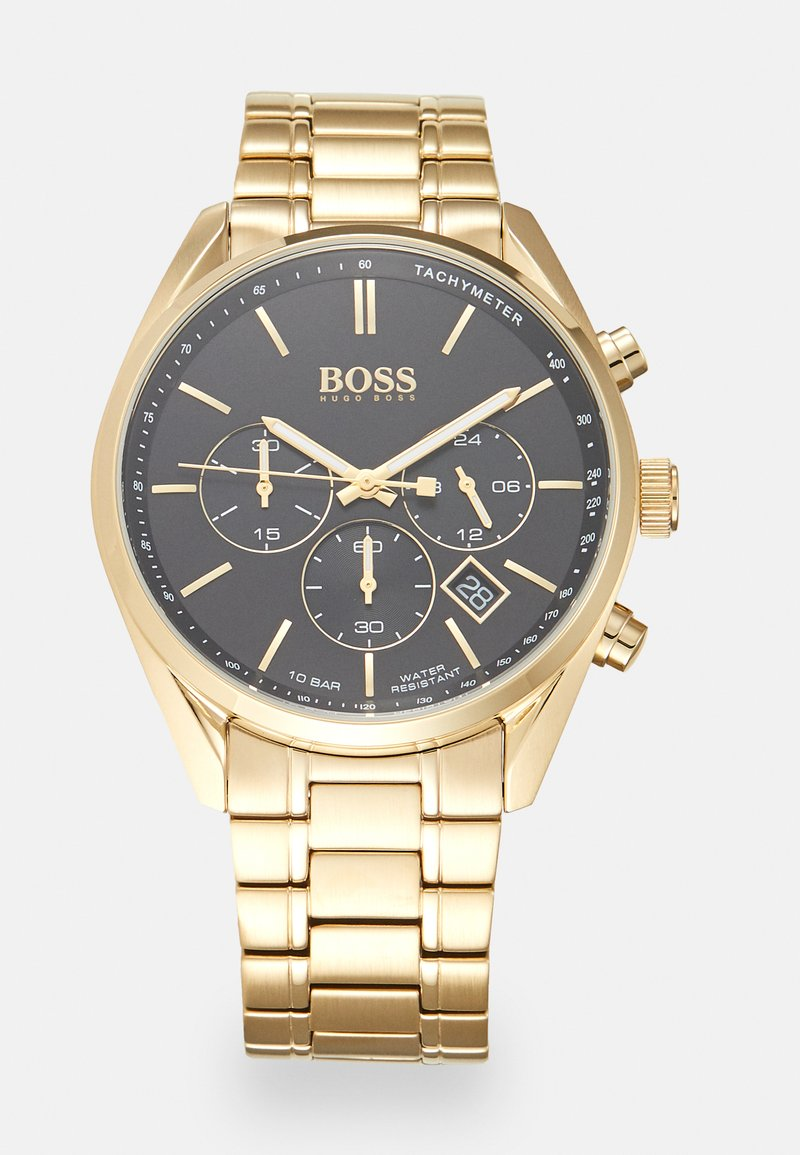 BOSS - CHAMPION - Chronograaf - gold-coloured