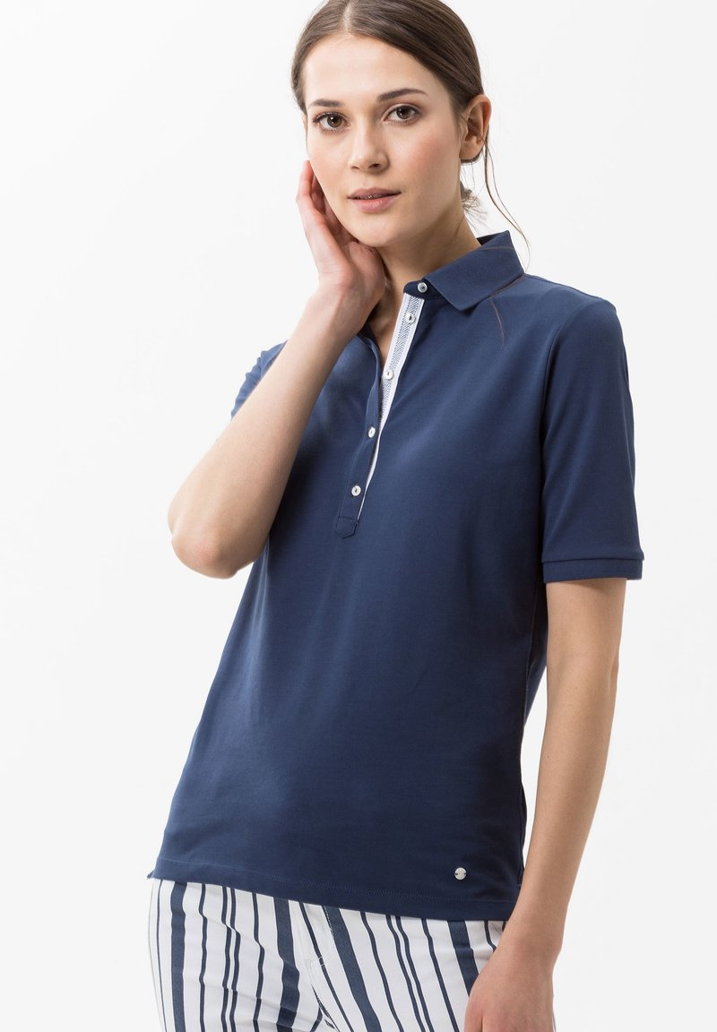 BRAX - STYLE CLEO - Polo shirt - indigo