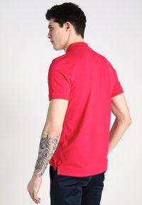 Selected Homme - SLHARO EMBROIDERY - Polotričko - rose red - 2