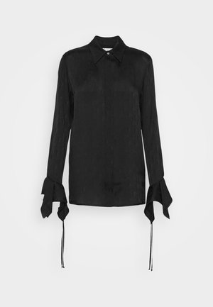 LOGO BLOUSE - Blouse - black