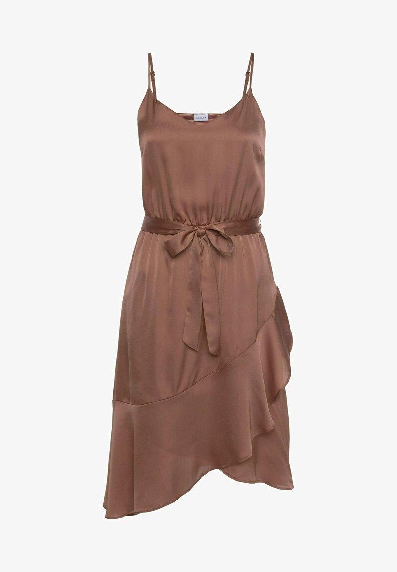 LASCANA - Cocktail dress / Party dress - nougat