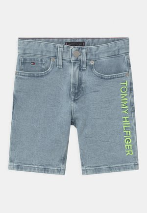 SPENCER - Denim shorts - marblewash
