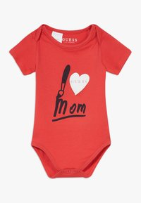 Guess - BABY SET - Body - red and grey combo - 3
