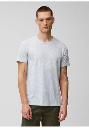 MIT GRINDLE-EFFEKT - Print T-shirt - silent wave