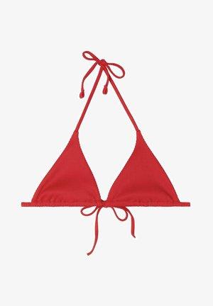 Bikini top - - u- red summer