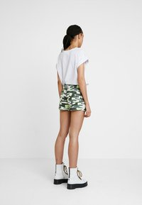 TWINTIP - Denim shorts - green - 2
