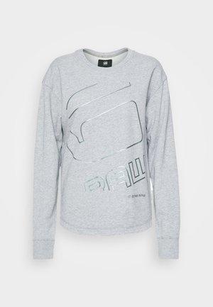 GRAPHIC SHIFT - Sweater - grey