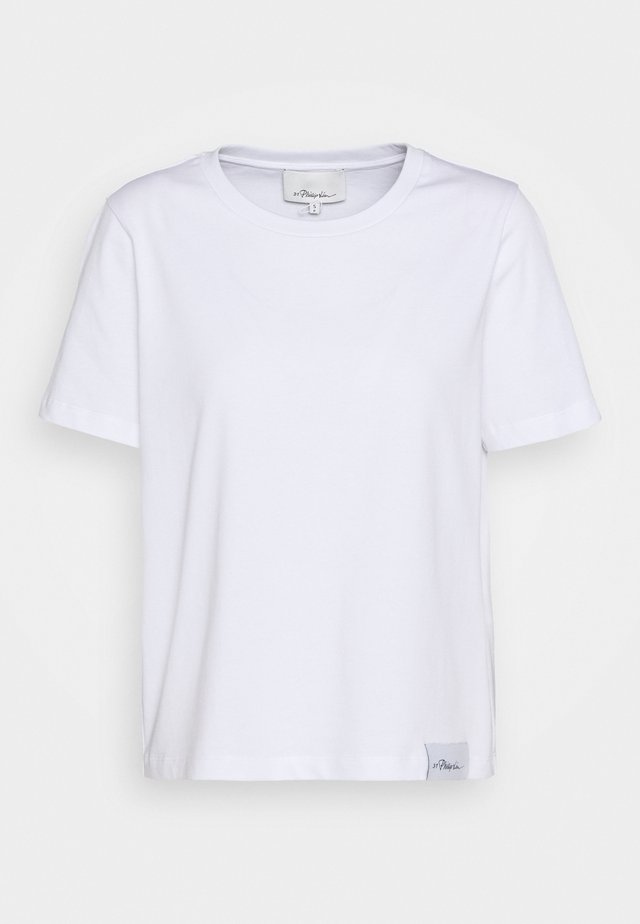 LOGO CREW - T-Shirt basic - white