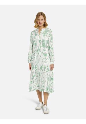 Shirt dress - jade print