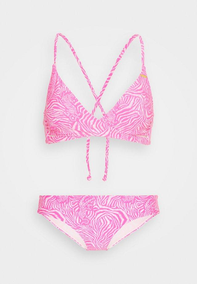BAAY MAOI MIX FIXED SET - Bikini - white/pink