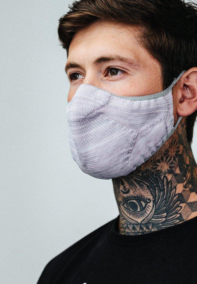 Masque en tissu - grey/white