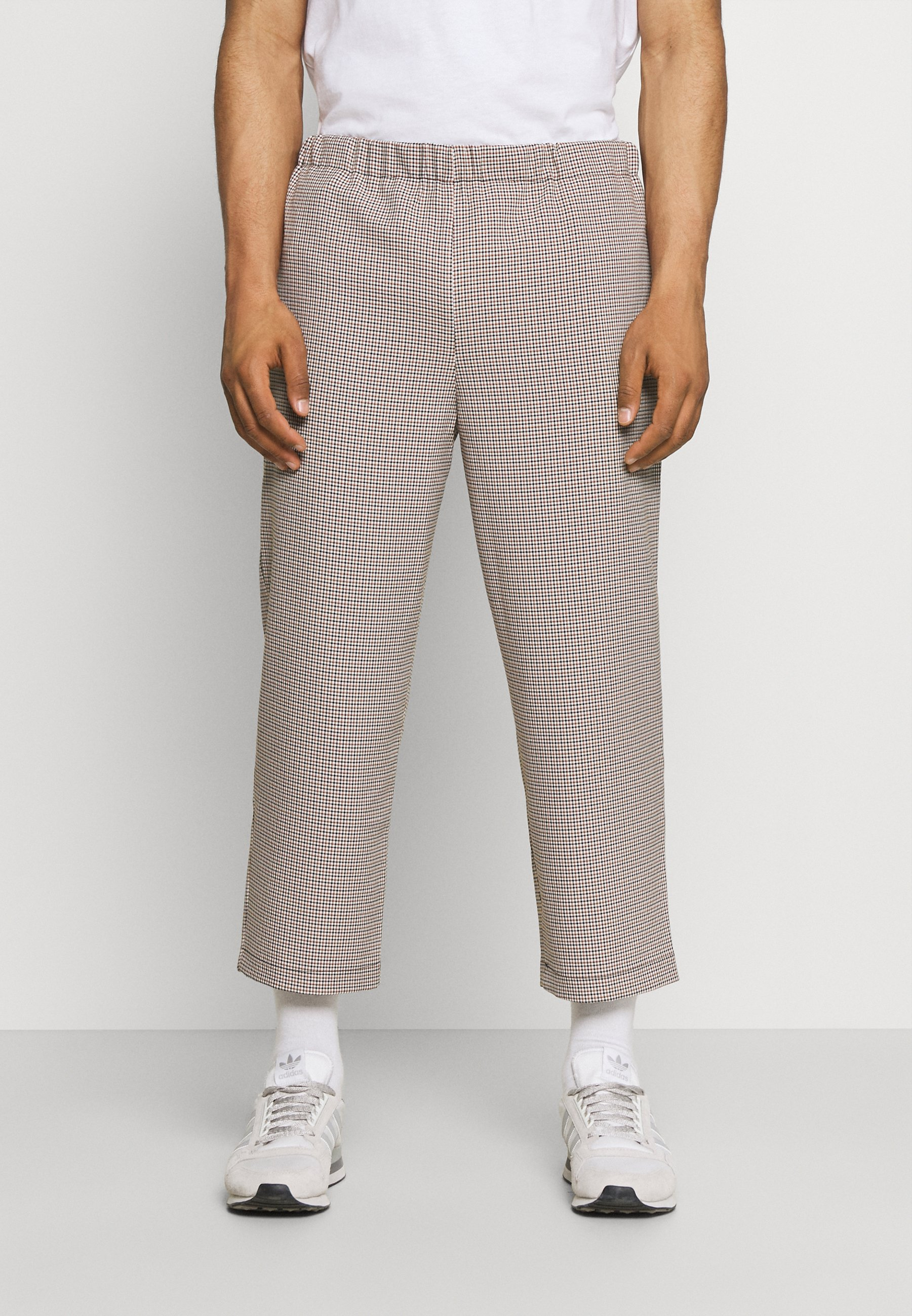 Men CHECKS CASUAL TROUSERS - Trousers