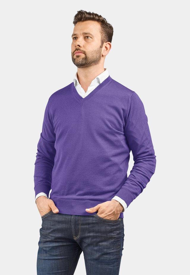 MERINO EXTRAFEIN - Jumper - violett