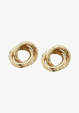 VERSCHLUNGENE - Earrings - gold colour