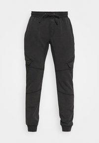 Tigha - BONO - Cargo trousers - vintage black - 3