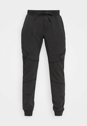 BONO - Cargo trousers - vintage black