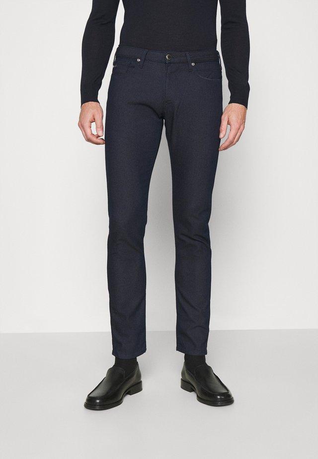 POCKETS PANT - Jeans slim fit - blu