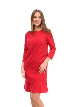 MERLIN - Korte jurk - red