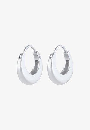 HOOPS MINIMAL - Earrings - silber