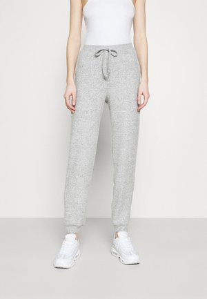 VMTIA - Trousers - medium grey melange