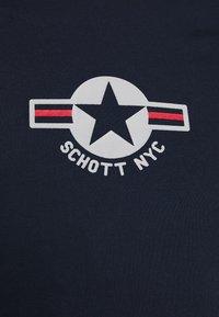 Schott - TSRANKS - Print T-shirt - navy - 5