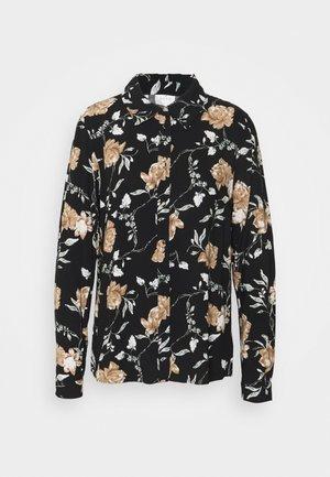VINOUDI - Button-down blouse - black