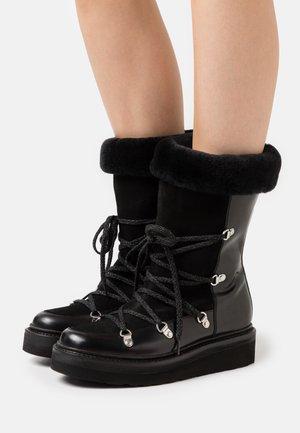 CAMILLE - Zimní obuv - black