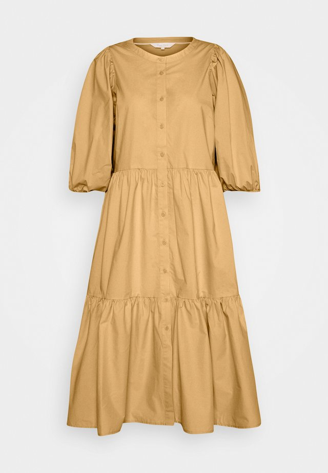 HASITA - Shirt dress - sahara sun