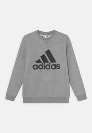 Collegepaita - medium grey heather/black