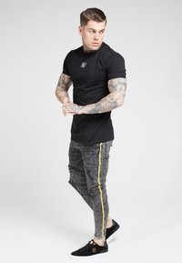 SIKSILK - DISTRESSED TAPED - Jeans Skinny Fit - faded grey - 1