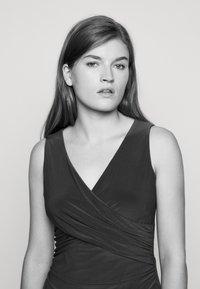 Lauren Ralph Lauren - MID WEIGHT DRESS - Jersey dress - summer sapphire - 3