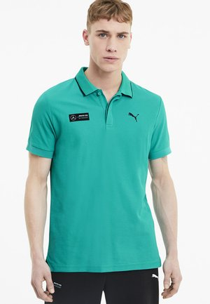 Polo shirt - spectra green