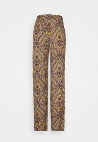 ONLY Tall - ONLVIDE WIDE PANT - Bukse - golden spice/spicy boho - 1