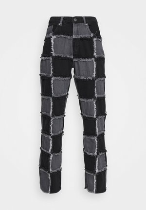 MUSE CHARCOAL - Jeans straight leg - charcoal