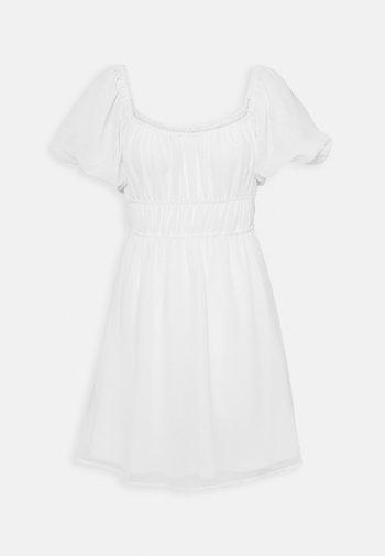 MAKE IT HAPPEN DRESS - Vestido informal - white