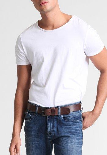 ZED  - Belt - dark brown/black